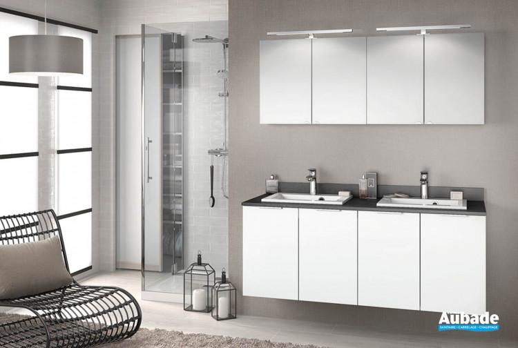 Meuble salle de bains Delphy Evolution EP140SL