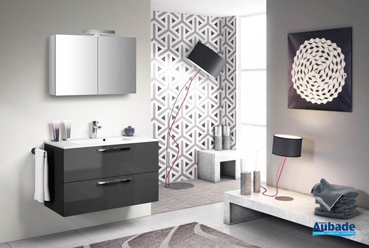 meubles de salle de bains Delpha Graphic 90
