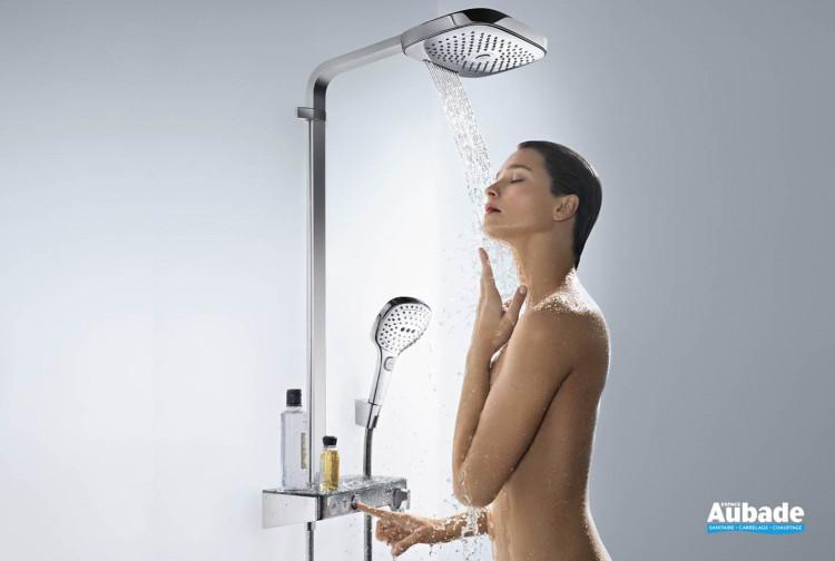Showerpipe Raindance Select E300 3jet Hansgrohe