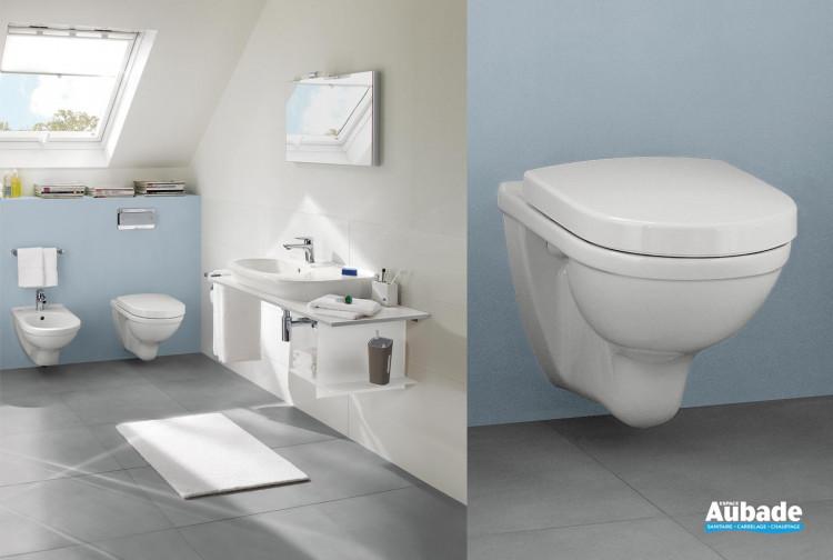 WC Villeroy & Boch ensemble wc suspendu O.novo