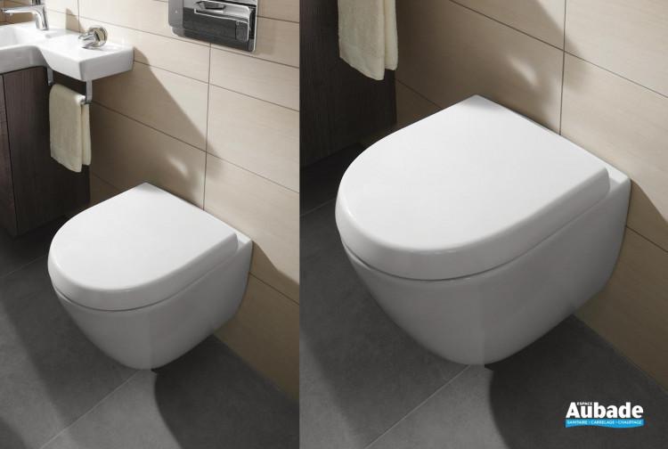 WC Villeroy & Boch wc suspendu Subway 2.0 Compact