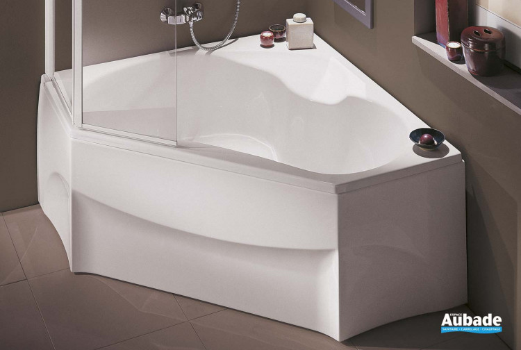 baignoire d 39 angle bain douche jacob delafon espace aubade. Black Bedroom Furniture Sets. Home Design Ideas
