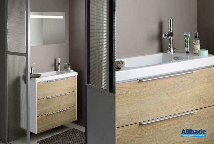 Meuble salle de bain XS de Sanijura | Espace Aubade