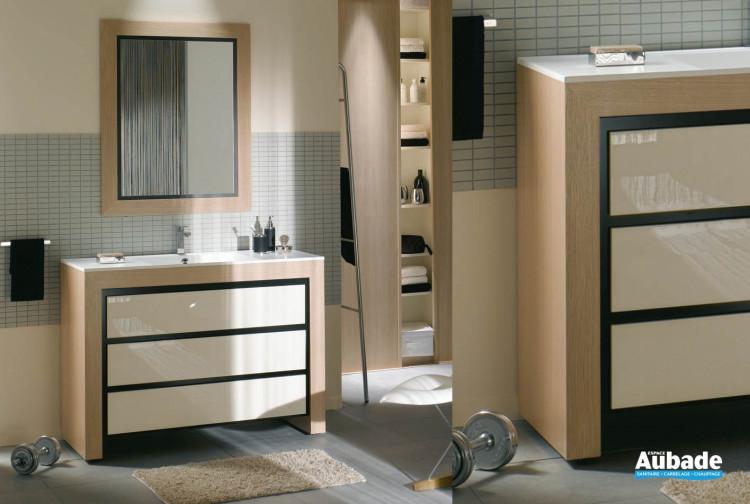meubles de salle de bains Decotec collection Vendôme