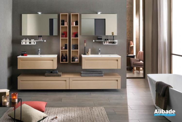 Meuble salle de bain Unique Wood 90cm