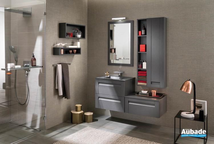 Meubles salle de bains Unique Wood Delpha 60 cm | Espace Aubade
