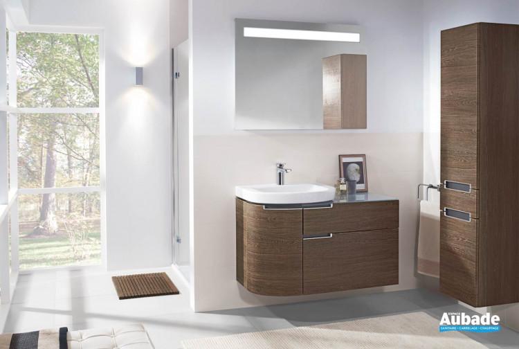 meubles de salle de bains Villeroy et Boch collection Subway 2.0
