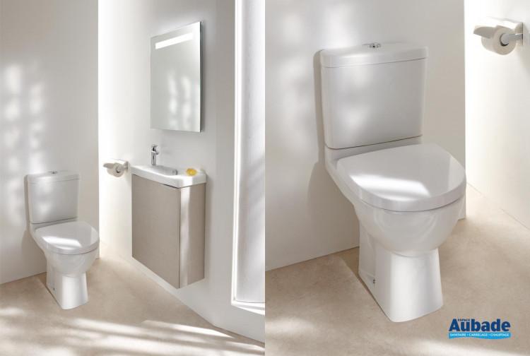 Pack WC au sol Odéon Up blanc de Jacob Delafon