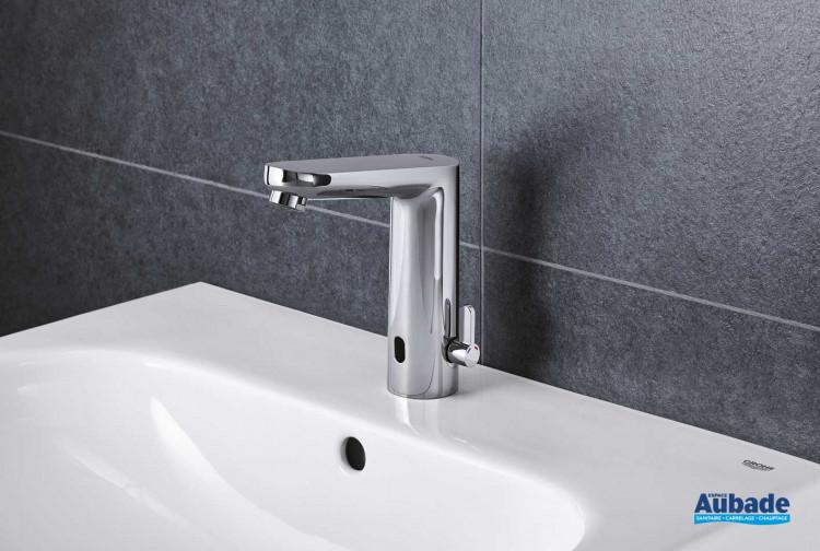 Robinets lavabos & vasques Grohe Eurosmart automatique