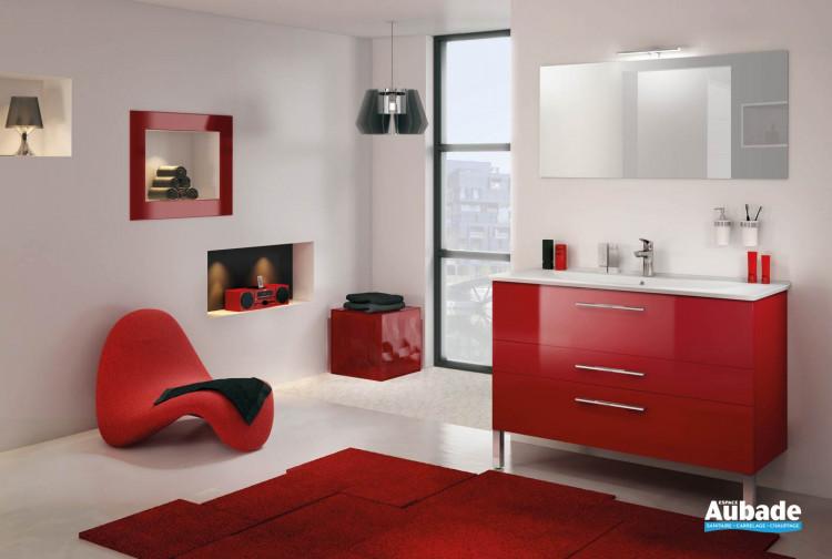 meubles de salle de bains Delpha modèle Graphic 123