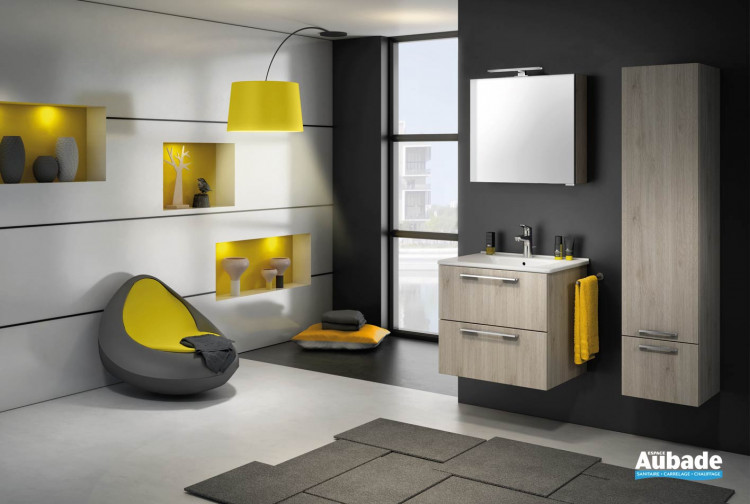 Meubles salle de bains Delpha Graphic GC63D