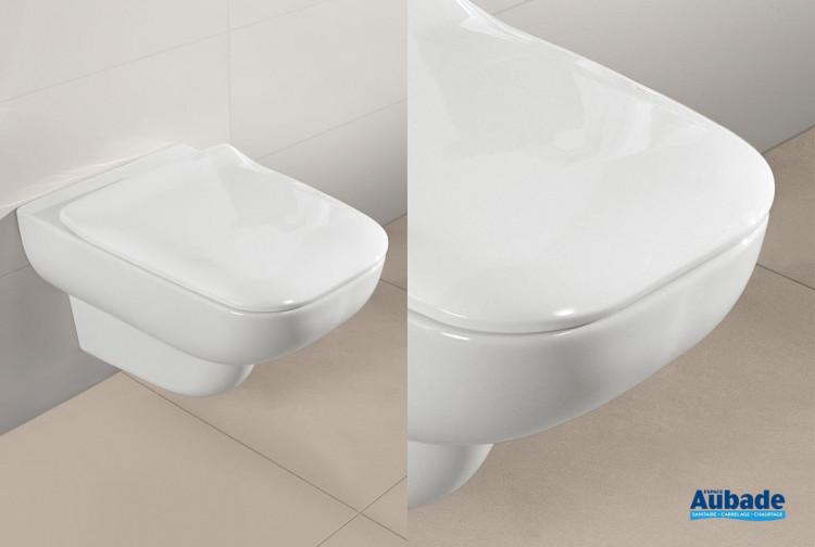 WC Villeroy & Boch cuvette à bride Joyce Direct Flush