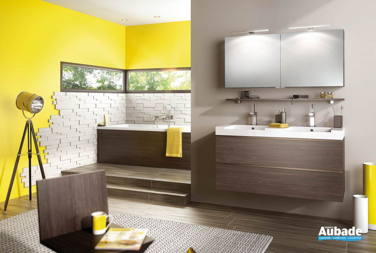 Meuble salle de bains Delphy Inspiration NC120DD