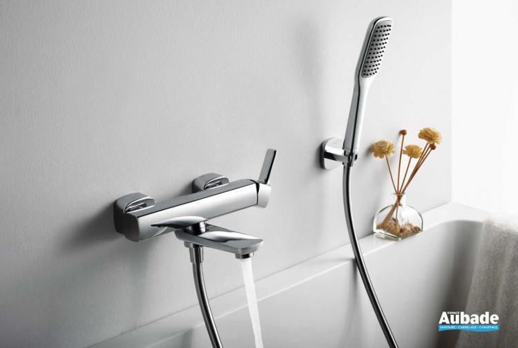 Robinet mitigeur mural mécanique pour bain douche Birdy par Paini