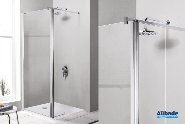 Paroi de douche Prestige douche ouverte