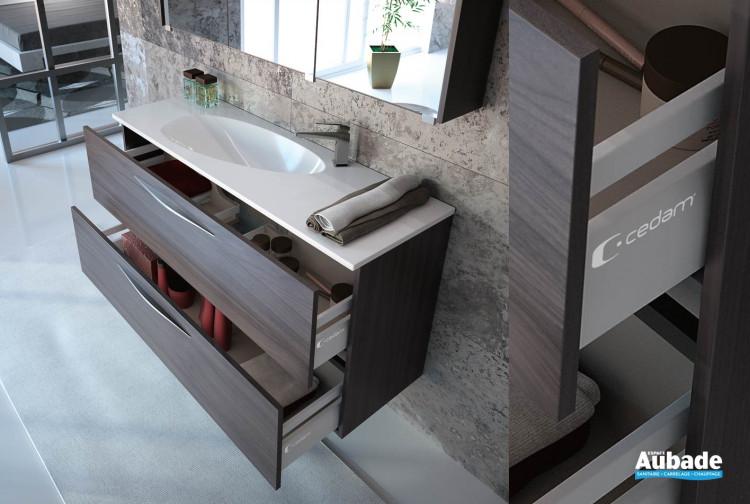 Meuble salle de bains Cédam Slim