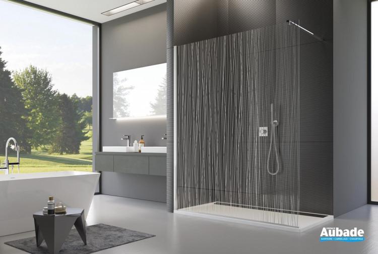 paroi de douche fil d 39 eau sanswiss espace aubade. Black Bedroom Furniture Sets. Home Design Ideas