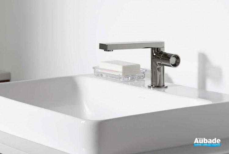 Mitigeur lavabo levier cylindrique Pure Composed de Jacob Delafon
