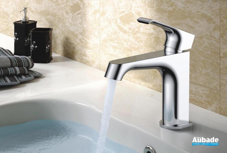 Robinet mitigeur pour lavabo bas Zohé de la marque Paini France