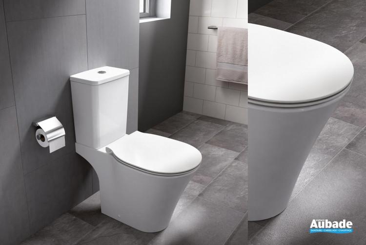 Pack WC sur pied en porcelaine vitrifiée blanc Amazi de Ideal Standard