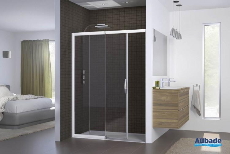 paroi de douche coulissante kinedo macao espace aubade. Black Bedroom Furniture Sets. Home Design Ideas