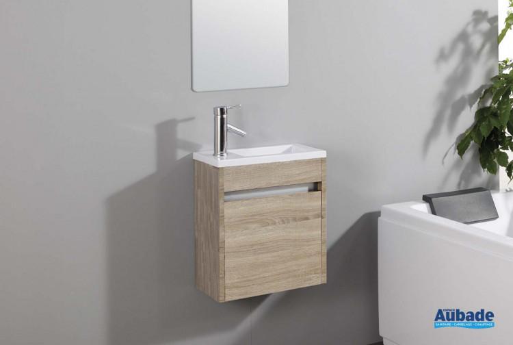 Meuble lave main abyss de lido espace aubade - Meuble de salle de bain lido ...