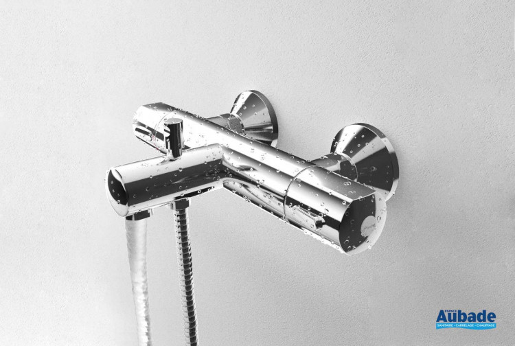 Robinet mitigeur thermostatique bain douche Olyos de Porcher