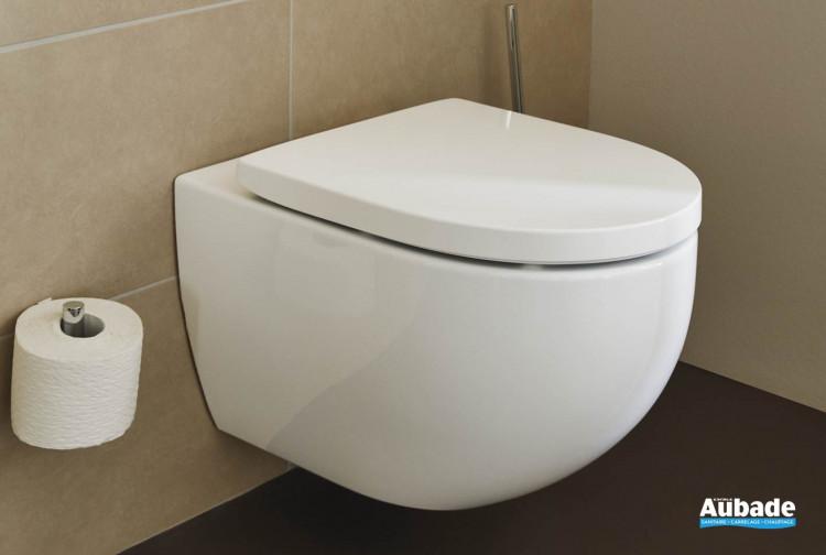 Pack WC suspendu rond sans style glisse de la gamme Derby Style par Vigour