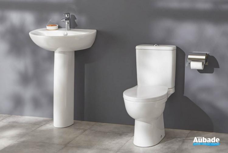 Pack WC au sol Patio sans bride blanc de Jacob Delafon