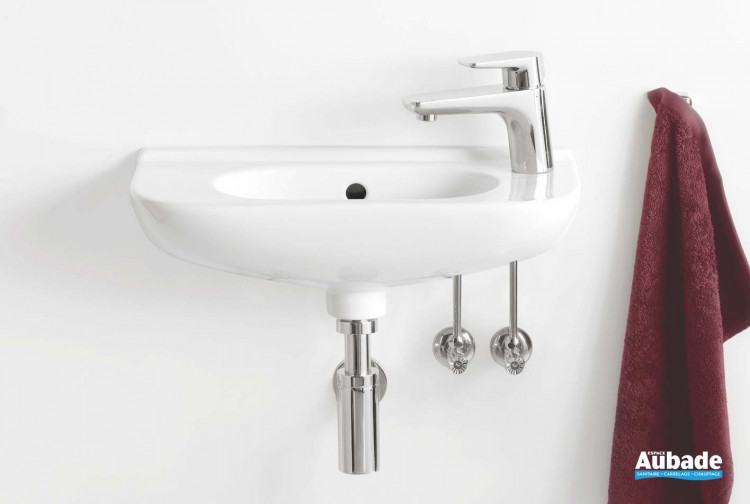 Lave-mains Villeroy & Boch lave-mains compact oval O.novo