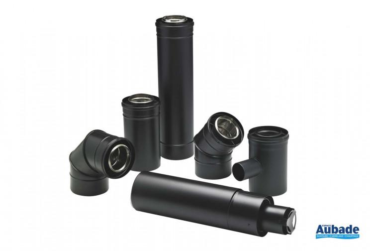 Accessoires chauffage Ten conduits étanches pour poêle à pellets Bioten