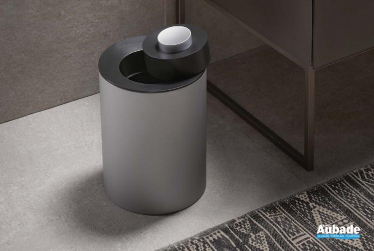 accessoire salle de bains keuco poubelle plan