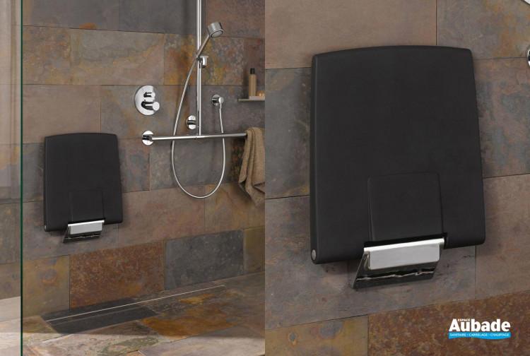 Accessoires PMR Keuco Siège de douche avec barre murale