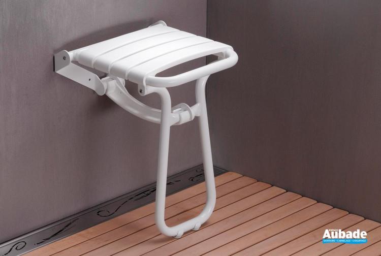 Accessoires PMR Pellet ASC Siège de douche escamotable avec béquille
