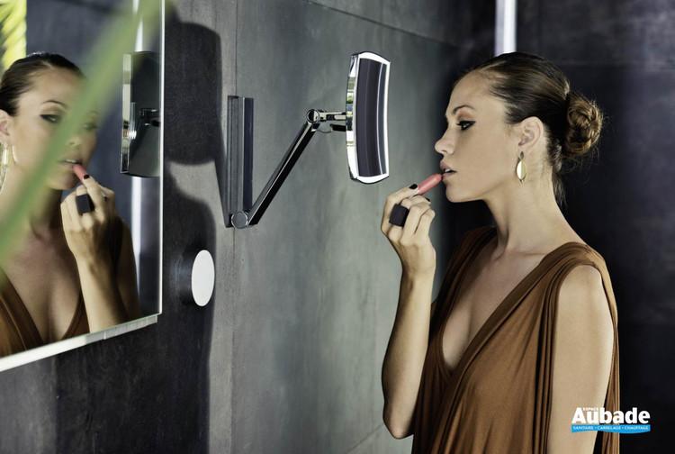 Miroir grossissant iLook_move Carré de Keuco