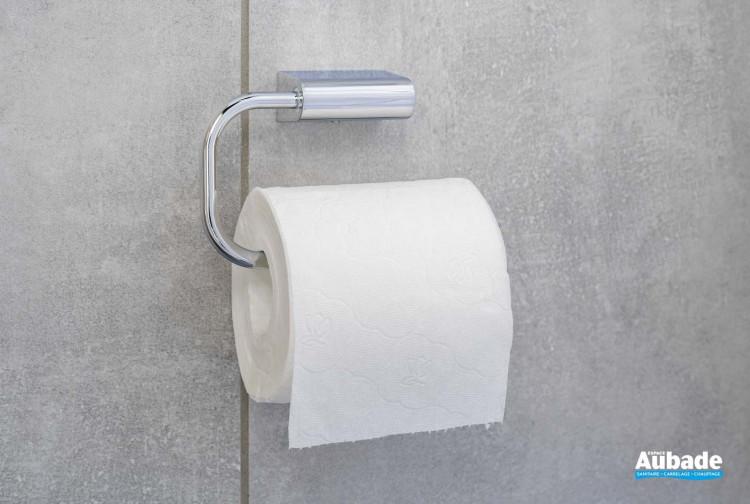 Dérouleur papier toilette finition chromé à fixer Clivia par Vigour