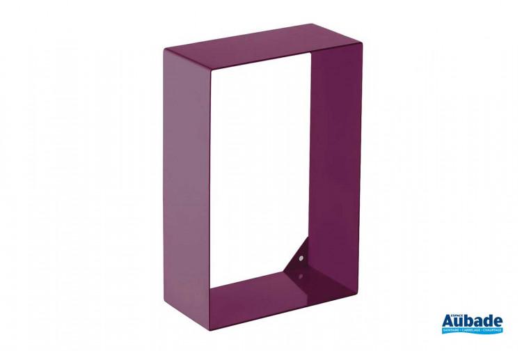 accessoires de toilette Griffon Etagère en acier colorée