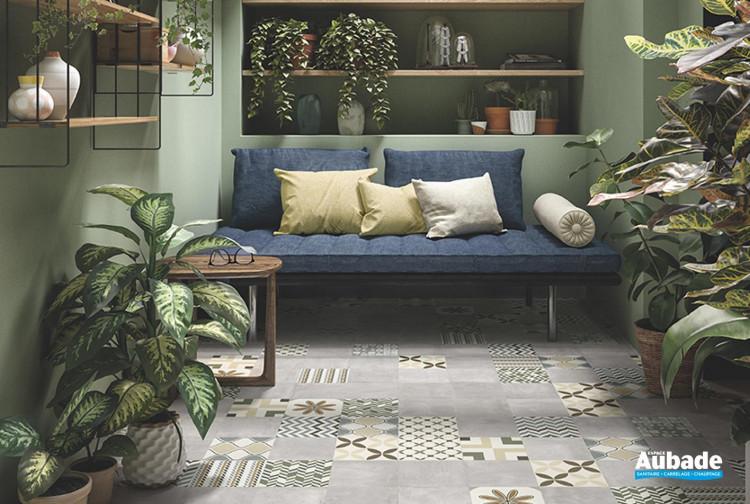 Collection Be-Square Easy par Emil en teinte concrete