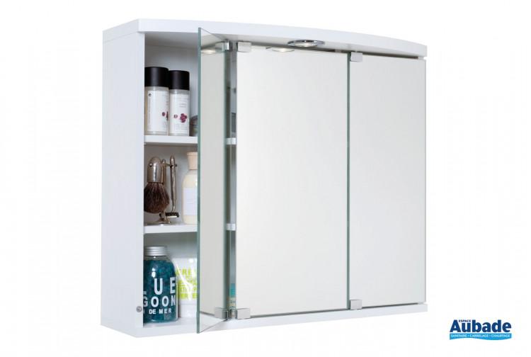 size 40 best website half off Armoire de toilette miroir 3 portes Decotec | Espace Aubade