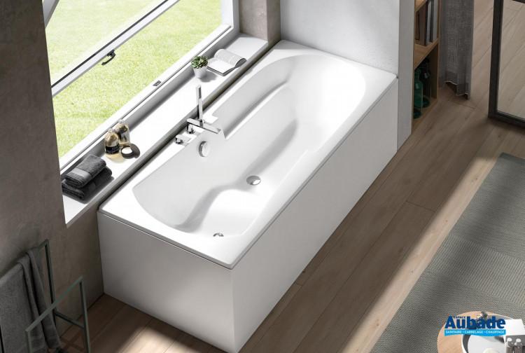 Baignoire rectangulaire confortable et design Aisance par Aquarine