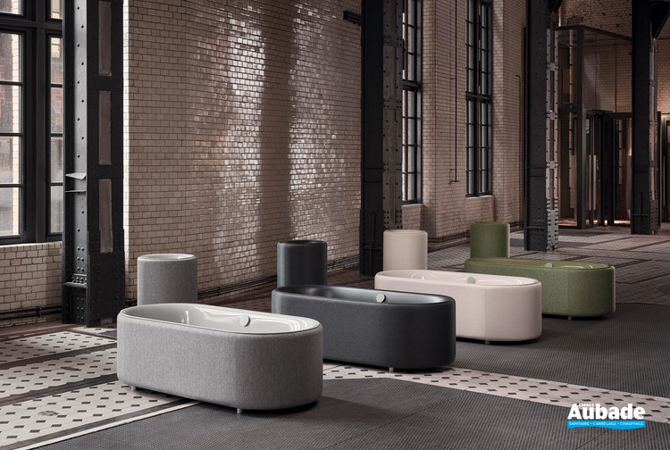 Baignoire arrondie et design BetteLux Oval Couture de BETTE