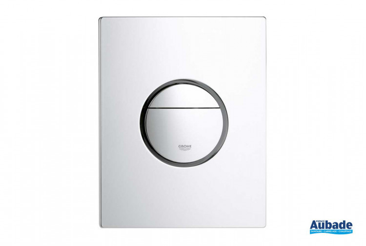 Bati-support Grohe plaque de commande wc design Nova