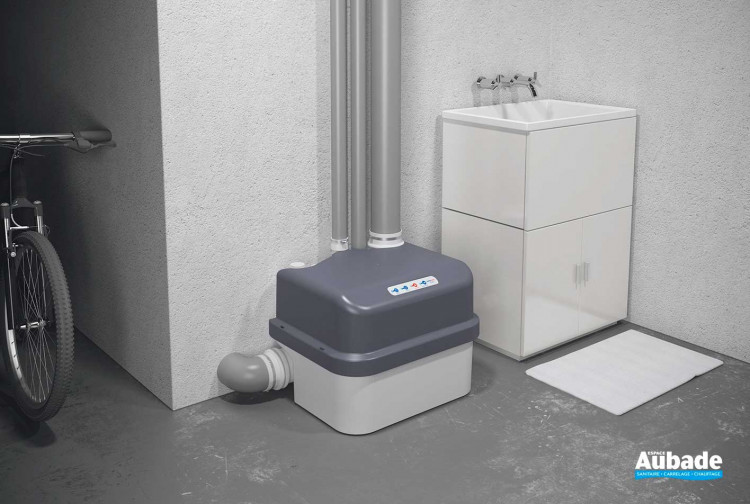 Broyeur WC Watermatic station de relevage VD800