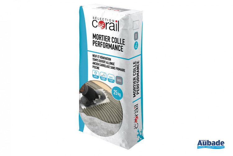 carrelage mise en oeuvre corail mortier colle performance c2