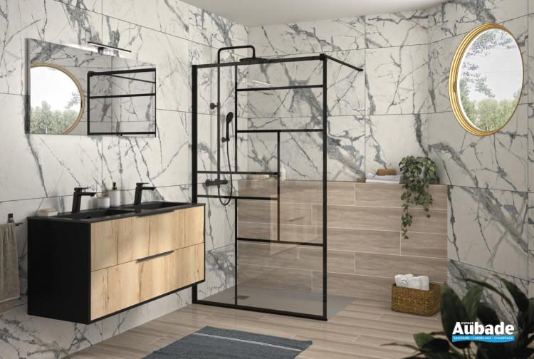 Salle de bains inspiration Naturel et industriel de Delpha