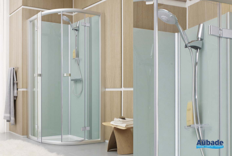 Cabine de douche complete Leda Pluriel Access douche fermée