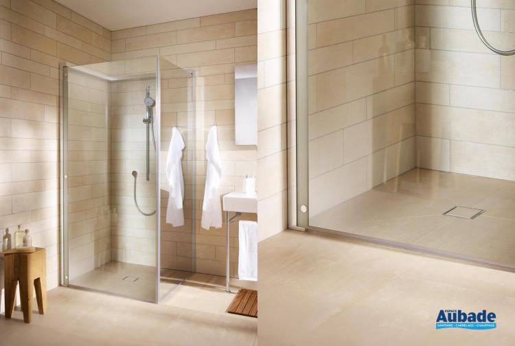 Paroi de douche en verre porte pliable Duravit | Espace Aubade