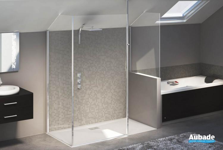 Paroi de douche sur-mesure par Kinedo