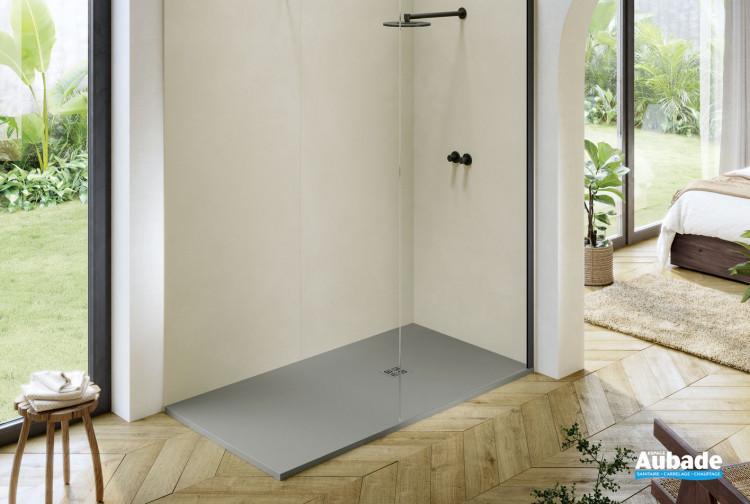 Receveur pour douche à l'italienne Compact finition EPUR Gris de la marque Acquabella