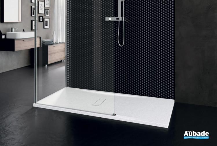 Receveur de douche extraplat Custom Touch Blanc de Novellini